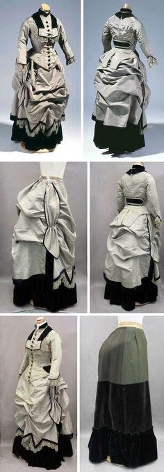 Victorian dress 1870
