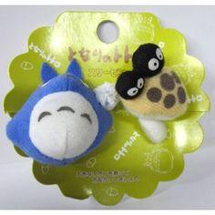 Chu Totoro and Dust Balls Soft Plush Figure Hair Band