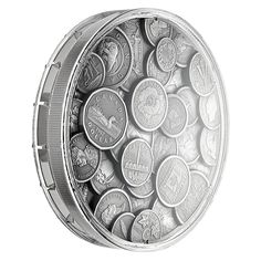 The Canadian Coin Collection - Pure Silver One Kilogram Ultra-High Relief Coin - Mintage: 500 Laura Secord, Silver Coins For Sale, Women Right To Vote, Canadian Coins, Alex Colville, Effigy, Old Coins, King George, Coin Collecting