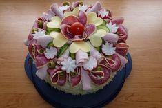 Narozeninový slaný dort
