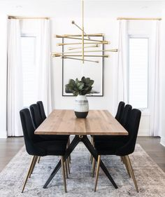 Dining Chair Stunning Dining Room Inspo - The Marble Home Room # . - Dining Chair Stunning Dining Room Inspo – The Marble Home room - Dining Room Inspiration, Dining Room Design, Dining Room Modern, Minimalist Dining Room, Mid Century Modern Dining Room, Industrial Dining Rooms, Modern Minimalist, Modern Table, Modern Chairs