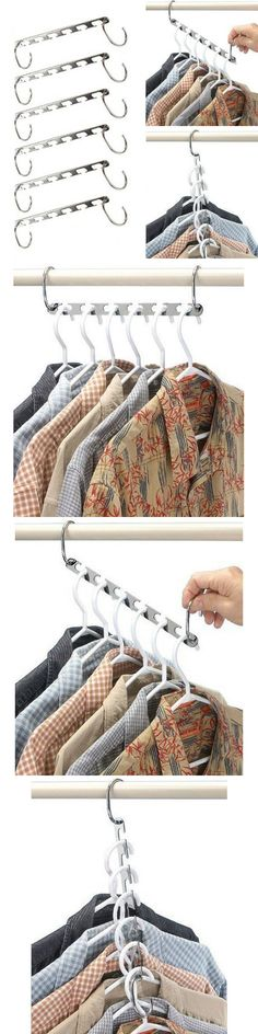 10x Anti-slip Stainless Steel Clothes Hangers Coat Clothes Hanger Rack