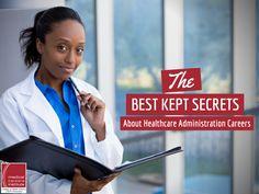 The Best Kept Secrets about Healthcare Administration Careers   #Healthcare #HealthAdministration #ECPIUniversity  http://www.ecpi.edu/blog/best-kept-secrets-about-healthcare-administration-careers