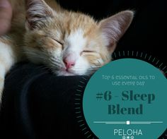 Gently soothe yourself to sleep with this essential oil blend