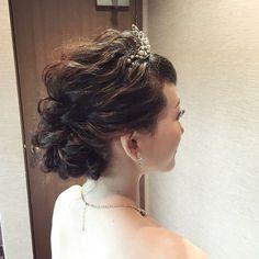 アラサー花嫁におすすめのラブリーすぎない30代のブライダルヘア | marry[マリー]