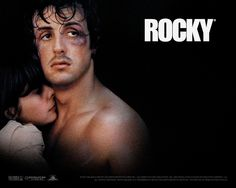 Stallone as Rocky: classic underdog-makes-good