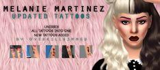 Lana CC Finds - overkillsimmer:  Melanie Martinez Updated Tattoos ...