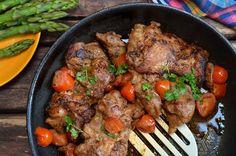 Soczysty kurczak z grilla lub z patelni - niebo na talerzu Nutrition Tips, Kitchen Recipes, Pot Roast, Poultry, Chicken Recipes, Steak, Grilling, Food And Drink, Beef