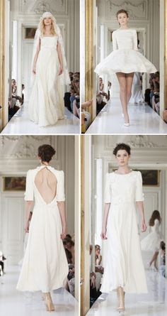 ♥ French Wedding Blog: Delphine Manivet collection été 2013