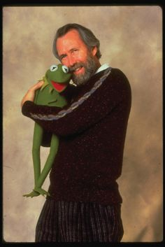 Muppets poster to repin and like jim hensen Kermit love hug