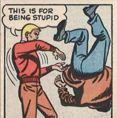 Funny Pics: 33 of the Random Crazy Weird & Hilarious - Movie And Comic Comics Vintage, Vintage Comic Books, Comic Books Art, Comic Art, Book Art, Vintage Cartoon, Bd Comics, Archie Comics, Anime Comics