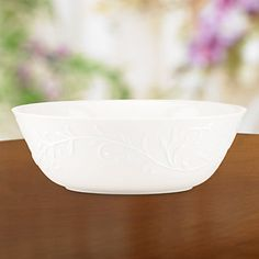 Opal Innocence Carved Large All Purpose Bowl by Lenox