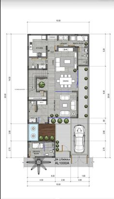 2bhk House Plan, House Plans Mansion, Model House Plan, House Layout Plans, Duplex House Plans, Dream House Plans, Small House Plans, House Floor Plans, Two Story House Design