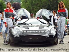 Few Important Tips to Get the Best Car Insurance Policy
