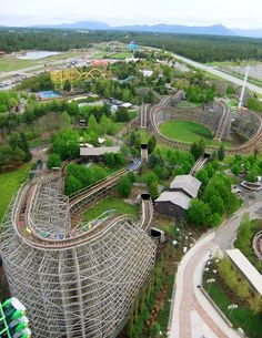 Silverwood Theme Park, ID.  Love that I have this in my backyard  along with a gorgeous lake and green mountains.. This is paradise I tell you!