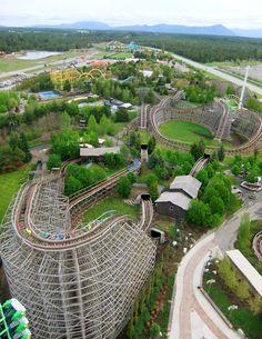 Silverwood Theme Park, ID.  This summer hopefully!!!