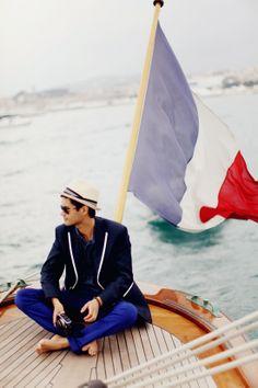 peek & co : Vive la france! Fleet Week, Cherry Blossom Girl, Oui Oui, Sharp Dressed Man, French Riviera, France Travel, Tans, Timeless Fashion, Sailor