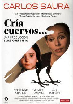 """""""Cría cuervos"""", drama film by Carlos Saura (Spain, 1975)"""