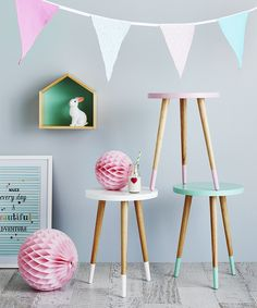 Adairs Kids Taylor Side Tables #Adairs #AdairsKidsDreamRoom