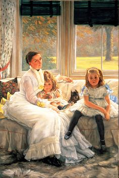 James Tissot      (15 October 1836 – 8 August 1902),  French painter and illustrator. -  http://en.wikipedia.org/wiki/James_Tissot