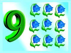 Numerele 1-10 - etapele procesului de invatare la prescolari si fise de lucru potrivite Numbers Preschool, Math Numbers, Letters And Numbers, Petite Section, France, Kindergarten Math, Yoshi, Mma, Fictional Characters