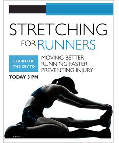 Stretching for Runners on Behance