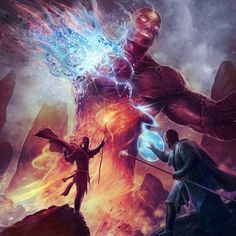 Battle of the mages https://www.artstation.com/jason_engle