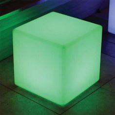Main Access 131784 Color Changing Waterproof LED Light - Cube - Walmart.com
