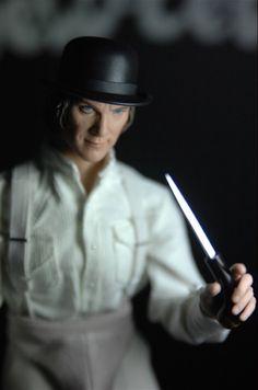 Alex with knife from A Clockwork Orange by Rainman