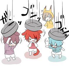 画像 Kawaii Chibi, Cute Chibi, Anime Chibi, Kawaii Anime, Manga Art, Anime Art, Ensemble Stars, Anime Love, Vocaloid