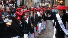 La división ciudadana marca de nuevo el alarde de Hondarribia