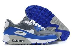 best service b8a37 78b8a Find Mens Nike Grey Royal White Air Max 90 online or in Curryshoes. Shop  Top Brands and the latest styles Mens Nike Grey Royal White Air Max 90 at  ...