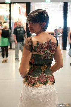 Corset Tattoo of awesome!