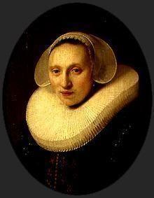 Rembrandt van Rijn - Portrait Cornelia Pronck, wife of the Albert Cuyper
