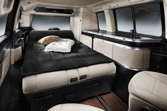 Mercedes Pop-Top Camper Makes Living In A Van Look Tastefully Fancy