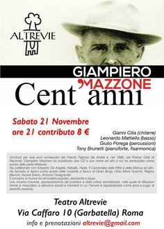 Locandina Giampiero Mazzone