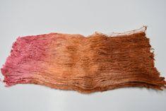 Mulberry Silk Cocoon Sheet Fabric Hand Dyed Pink Orange Mix 12395 www.sallyridgway.com #spinningsilk #silkforfelting #mulberrysilkfiber #handdyedsilkfiber Mulberry Silk, Texture Art, Burnt Orange, Bright Pink, Needle Felting, Fiber Art, Fabric, Color, Tejido