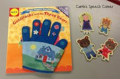 Carrie's Speech Corner Books of the Week:  Goldilocks and the Three Bears and Believe Me, Goldilocks Rocks. With two free activities for Goldilocks Rocks
