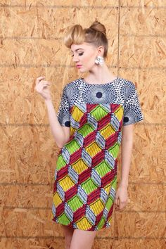 suakoko betty Tunic dress ~Latest African fashion, Ankara, kitenge, African women dresses, African prints, African men's fashion, Nigerian style, Ghanaian fashion ~DKK