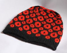 Poppy Paradise by Claire Slade | Knitting Pattern - Looking for your next project? You're going to love Poppy Paradise by designer Claire Slade. - via @Craftsy