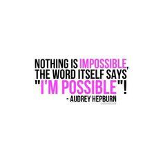I'm possible