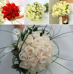 Round bouquet Roses