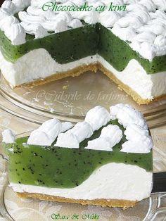» Cheesecake cu kiwiCulorile din Farfurie