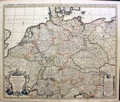 antique map germany j covens and c mortier c1740 general reference environmental management visualization