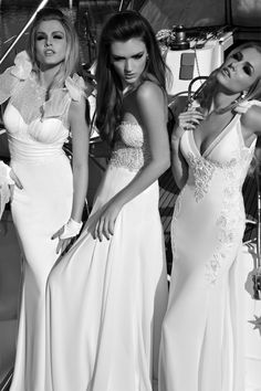 Love the dress on the right for the ceremony!!