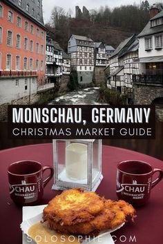 Best of Monschau Germany/ Monschau Christmas Market Guide: Events & Illuminations in Europe
