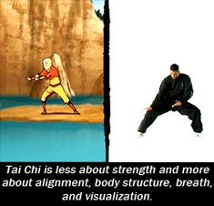 The martial art types the Bending styles were based on - Imgur