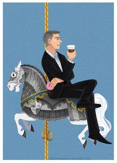 Hahaha Lestrade!