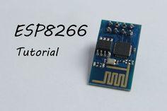 ESP8266 Wi fi module explain and connection 5volt to 3.3 volt correction info