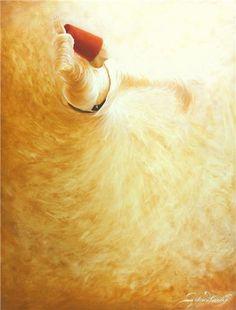 Dervish ,oil on canvas / By Gülcan Karadağ